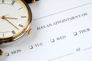 Appointment times